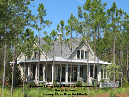 Southern Living House at Watersound, FL